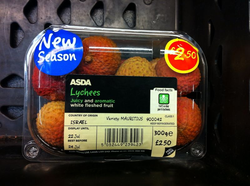 Asda Lychees 300g
