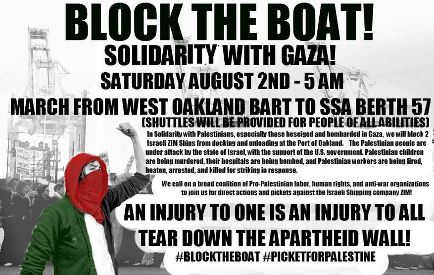 Calif. protesters to block Israel-owned ships at Port of Oakland