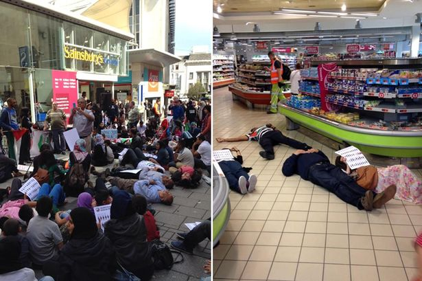 Sainsbury's forced to close due to demonstration in Birmingham